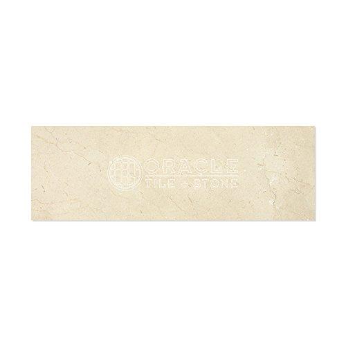 - Crema Marfil Spanish Marble 4 X 12 Field Tile, Polished