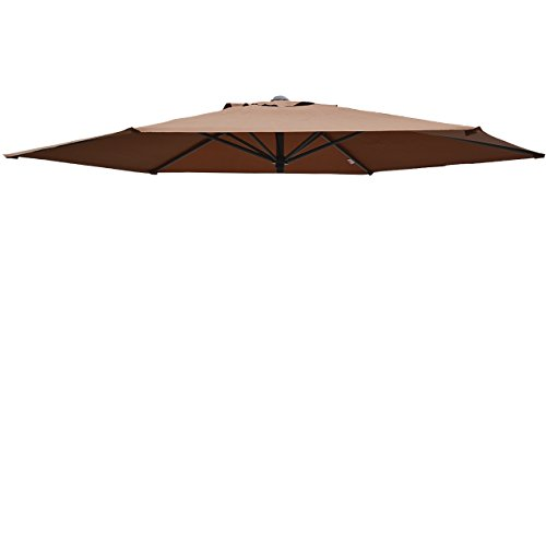 Umbrella Cover Canopy 9ft 6 Rib Patio Replacement Top Out...