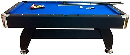 giordanoshop Tavolo da Biliardo Professionale Panno Blu 188x96