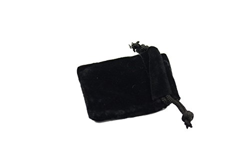 "Regal Pak ® Black Velvet Drawstring Pouch 1 3/4"" X 2"" (12 pieces/one dozen)"