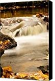 Top Of Miner Falls Canvas Print / Canvas Art - Artist Amanda Kiplinger