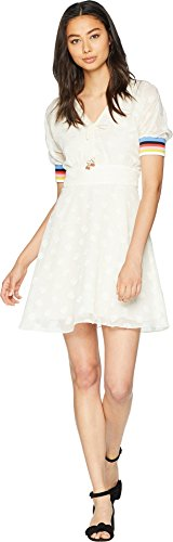 Juicy Couture Women's Cherry Clipped Dot Dress Angel 10