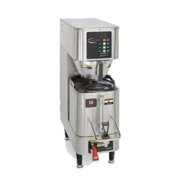 Grindmaster Cecilware Precision Brew Shuttle Single 1.5 Gallon Automatic Pourover Coffee Brewer - Specify Voltage