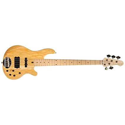 Lakland 5514-M-NAT 5-String Bass Guitar, Natural
