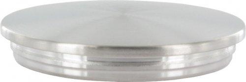 f/ür Rohr /ø 33,7 x 2,6mm Endkappe leicht gew/ölbt massiv mit Nase unten verj/üngt zum Einschlagen