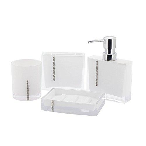Review Immanuel Cristal 4-PIECE Bathroom