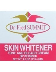 DR. FRED SOMMET peau Whitener Tone et Bleach Cream 4 oz / 113.4g