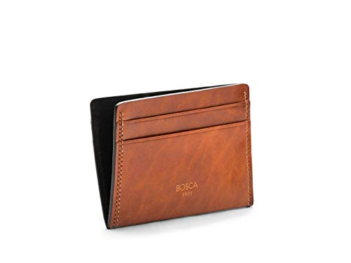 Bosca Mens Dolce Collection - Weekend Wallet (Amber)