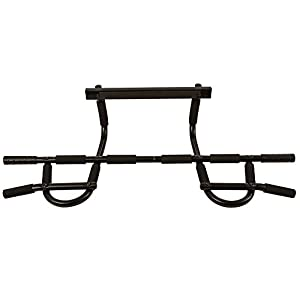 URBNFit Doorway Pull up Bar Upper Body Workout and Trainer Pull Up/Chin Up Bar