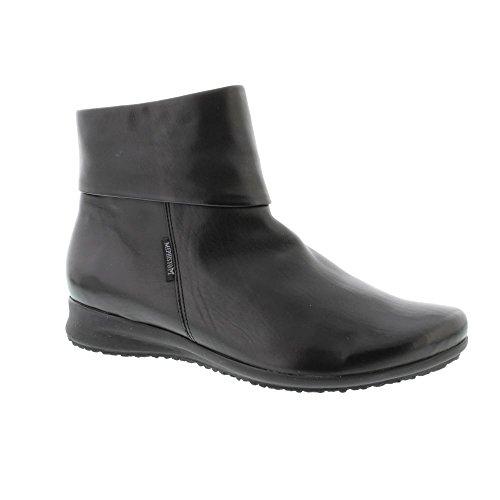 Mephisto Fiducia Black Womens Boots Black