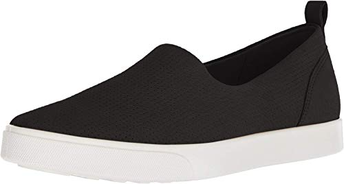 ECCO Women's Gillian Casual Slip On Sneaker, Black, 40 M EU (9-9.5 US) from ECCO