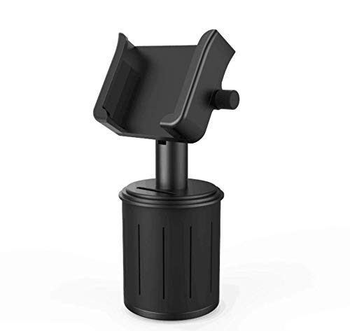 Car Cup Holder Phone Mount,Adjustable Aluminum Alloy Car Cup Phone Mount for Cell Phone iPhone Xs/Xs Max/X/8/7 Plus/Galaxy (Samsung Blu Ray Remote App For Iphone)