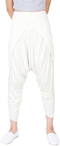 Lofbaz Sarouel Femme Spandex Capri Pantalon Harem Yoga Pilates Sport Yoga Danse