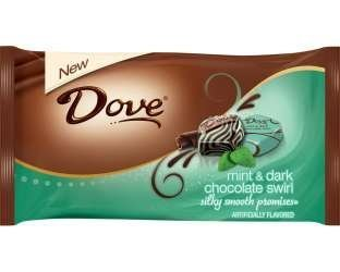 Dove Silky Smooth Mint and Dark Chocolate Swirl Promises,...