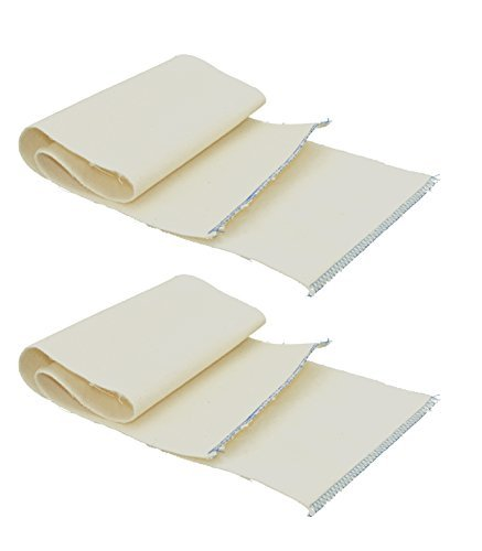 Professional Shoe Shine Cloth. Shoe Buffing Cloth. Natural Fabric. 2-Pack.