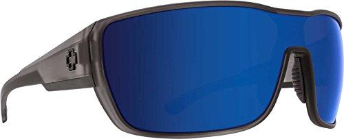 Spy Tron 2 Sunglasses-Matte Gray Smoke-Bronze/Blue - Tron Sunglasses