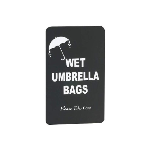 Glaro Sign (Sign - Wet Umbrella Bags 11 x 7)