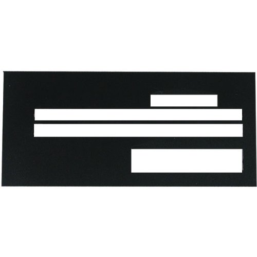 Check Writing Guide Superior Black Plastic