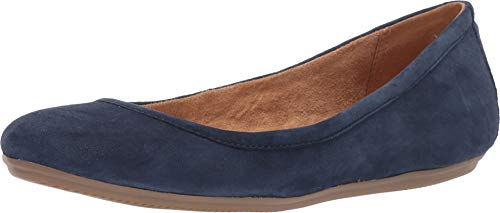 Naturalizer Women's Brittany Navy Suede 8 M US