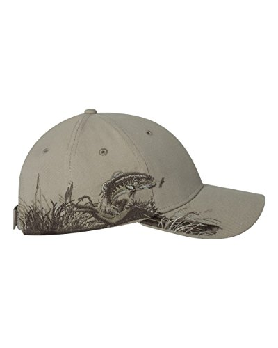 DRI Duck Wildlife Trout Cap, - Duck Trout Dri