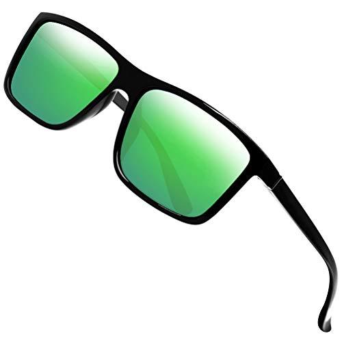 Polarized Sunglasses for Men Driving Mens Sunglasses Rectangular Vintage Sun Glasses For Men/Women Kryptonite