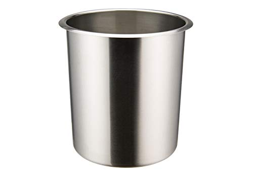 Winco BAMN-3.5, 3.5-Quart Stainless Steel Bain Marie Pot W/О Lid, NSF, Double Boiler, Sauce Pot