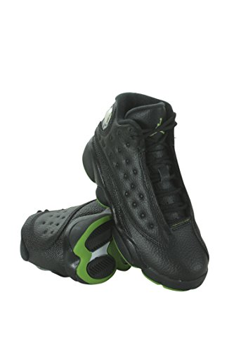 Jordan Retro 13'' Altitude Black/Altitude Green-White (Little Kid) (1 M US) by Jordan