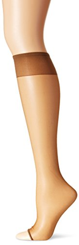 Berkshire Women's Toeless Knee High Pantyhose, Utopia, 8 1/2 - - Hole Pantyhose Fishnet Big