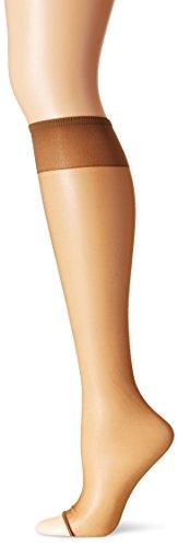Berkshire Women's Toeless Knee High Pantyhose, Utopia, 8 1/2 - - Pantyhose Hole Big Fishnet