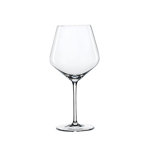 Style Vintage Glass (Spiegelau Style Burgundy Wine Glasses - (Set of 4, Clear Crystal))