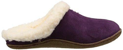 Sorel Nakiska Slide, Damen Pantoffeln Violett (Purple Dahlia 562)
