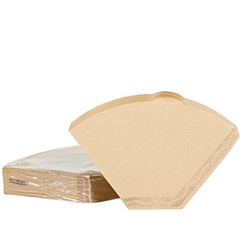 Filtros de papel para café sin blanquear, filtro predoblado ...