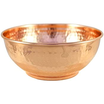 Finest Amazon.com: Cambridge Silversmiths Hammered Copper 3 Piece Mixing  DG94