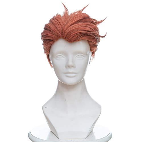 Veribuy Halloween Hero Cosplay Wig Cosplay Costume Orange Short -