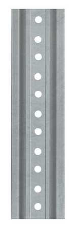 Tapco 054-00020 Steel U-Channel Sign Post, 6' Length, Galvanized by TAPCO (Traffic & Parking Control Co., Inc.)