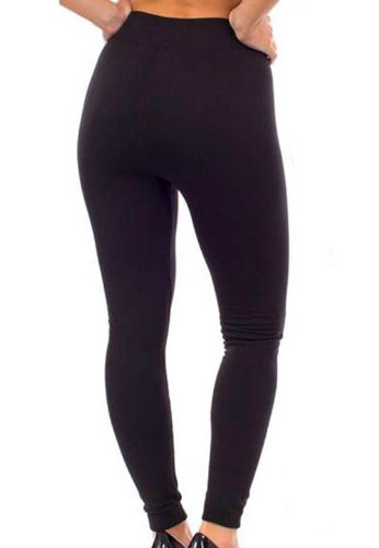 Women's Super Comfortable Leggings / Tight Pants Fleece Lined One Size Fit All