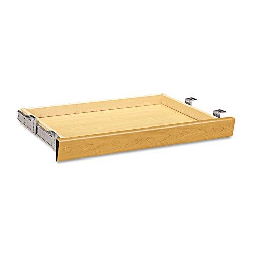 HON 1526C Laminate Angled Center Drawer, 26w x 15 3/8d x 2 1/2h, Harvest -