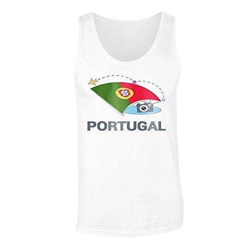 Neue Portugal Foto Reise Herren Tank top m436mt
