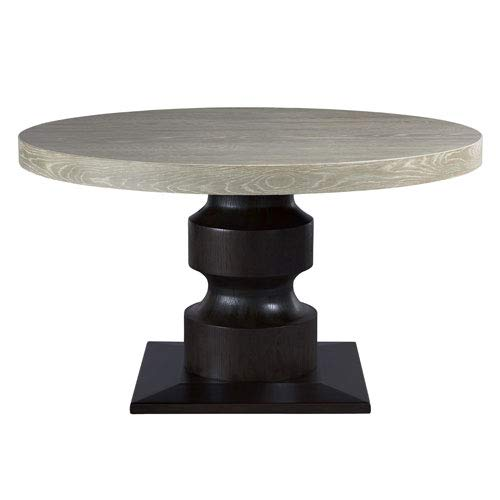 Height 54 Inch Round Pedestal Table - Universal Furniture Zephyr Affinity 54