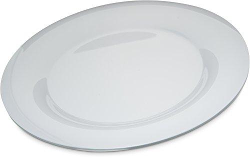 Carlisle 4302402 Durus Wide Rim Melamine Dinner Plate, 12