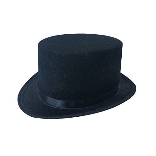 Kids Black Top Hat Lincoln's Hat -