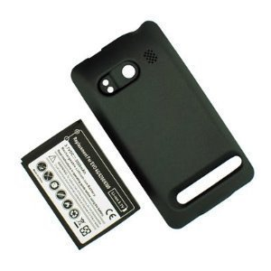 SANOXY® 4G 3500mAh Extended Battery Cover for HTC Evo