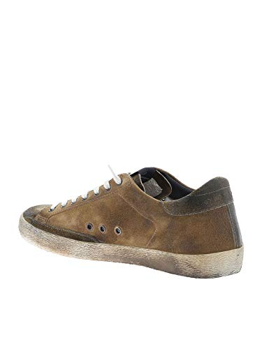 Uomo Camoscio G34ms590h98 Golden Goose Marrone Sneakers YnqUEPxR
