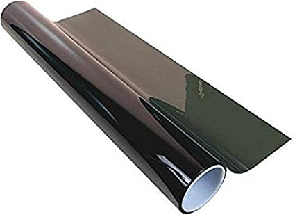36 X 100 Ft Roll 35/% Window Tint 2 Ply Professional Dark Charcoal Tint Film Bulk Self Adhesive