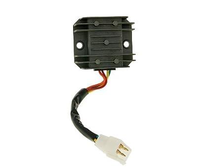 Jinan Qingqi, Shenke Gleichrichter mit Anschlusskabel 4-polig f/ür REX RS 1100 125ccm Regler