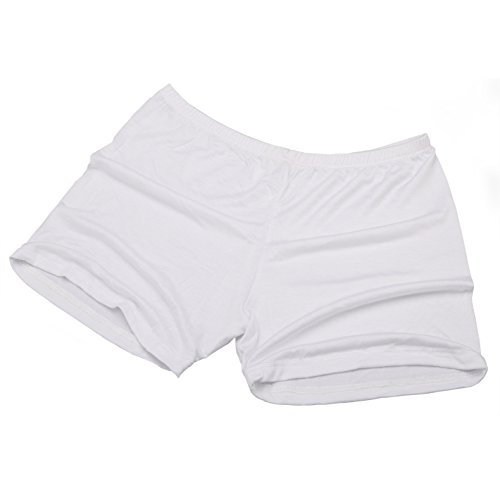 Dance Fairy Belly Braguitas Mujer Calzoncillos Boxer calzoncillos boxer algodon (rojo) White
