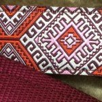 Lola's Limited Secret Powers Training Collar (3.2 mm, 10 prongs; Thick Fur, 20''-25'' Neck) (3.2mm, 10prong, X-Large, Aztec Burgundy) by Lola's Limited (Image #1)