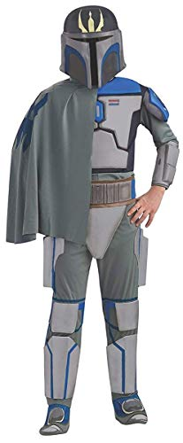 Rubies Star Wars Clone Wars Child's Deluxe Pre Vizsla Costume and Mask, Medium