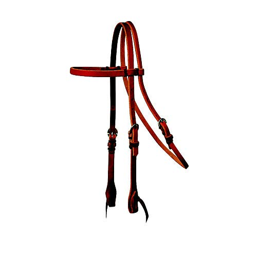 Reinsman Tied and Twisted Browband Headstall