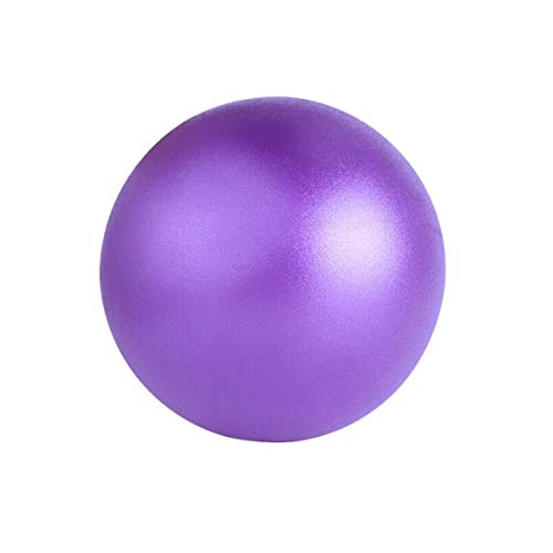 XIONGHAIZI Small Ball, Ladies Slimming Ball, Gymnastic Ball, Fitness Ball, Home Trumpet Beginner Yoga Ball, Purple 25CM Exercise, (Color : Purple, Size : 25cm)